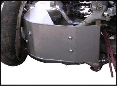 EnduroChicks - Shop for Ricochet Skid Plate, Part #484 - Mounting Pic 1 - Various Husqvarna & KTM models (2012-2015)