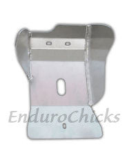 Ricochet Anodized Aluminum Skid Plate for Husqvarna TC/TE 125 (2014-2016), Part #484, Multiple Colors Available