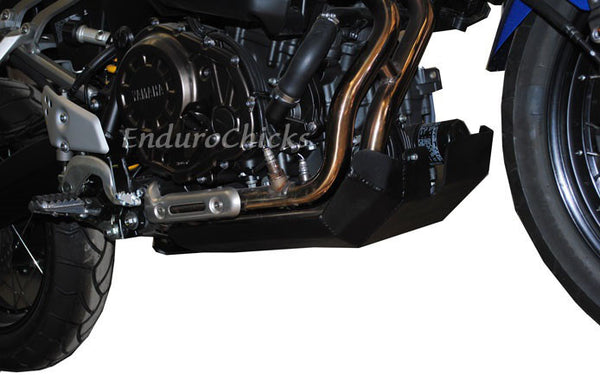 EnduroChicks - Shop for Ricochet Skid Plate Part #488 - Mounting pic 2 - Yamaha Super Tenere (2010-2013)
