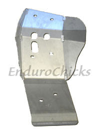 Ricochet Anodized Aluminum Skid Plate for Husqvarna TC/TE 449/511 (2011-2013), Part #491, Multiple Colors Available