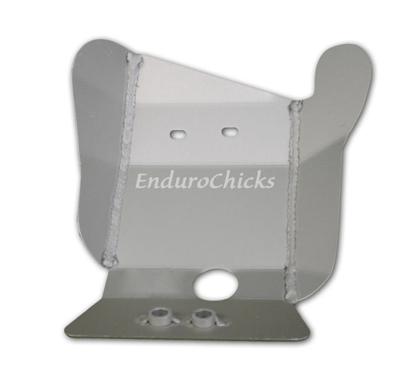 Ricochet Anodized Aluminum Skid Plate for Beta 250/300 2-Stroke (2013-2016), Part #496, Multiple Colors Available