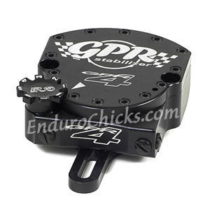 EnduroChicks - Shop for Black Steering Stabilizer - GPR V4 Dirt Fat Bar - Yamaha YZ250F (2006, 2009) & YZ450F/WR250F/WR450F (2006)