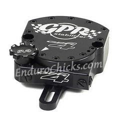 EnduroChicks - Shop for Black Steering Stabilizer - GPR V4 Dirt Fat Bar - KTM SX/SXF/XC/XCF (2012-2014), Part # 9001-0068