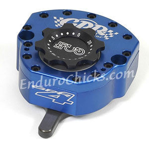 EnduroChicks - Shop for Blue Steering Stabilizer - GPR V4 Sport - Triumph Tiger 800XC (2010-2014), Part # 5011-4102