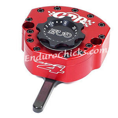 EnduroChicks - Shop for Red Steering Stabilizer - GPR V4 Sport - Kawasaki ZX6R (2007-2008), Part # 5011-4008