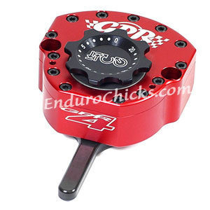 EnduroChicks - Shop for Red Steering Stabilizer - GPR V4 Sport - Kawasaki Ninja 250 (1997-2010), Part # 5011-4048