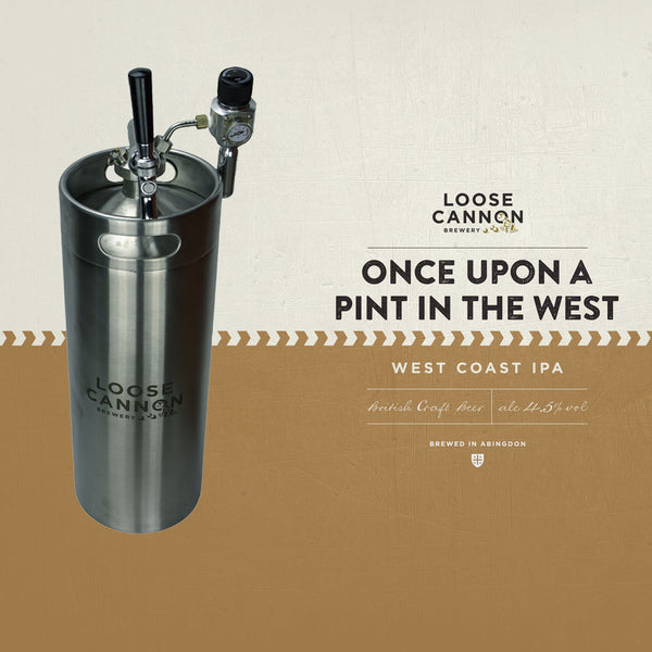 Members Barrel Once Upon a Pint in the West