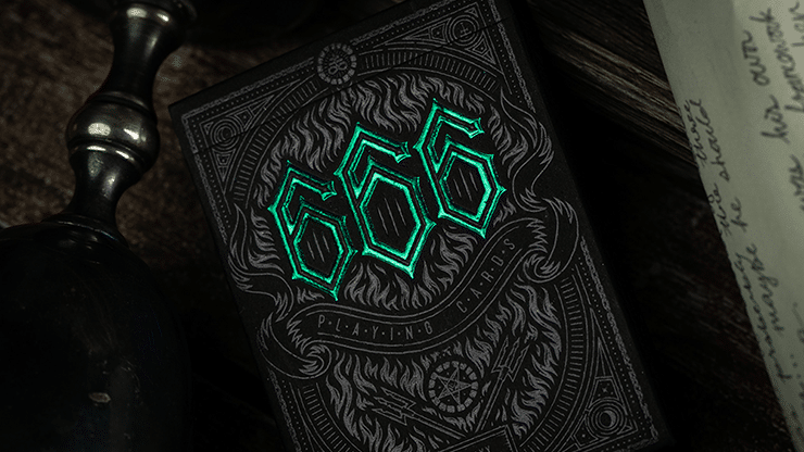 666-Green-Playing-Cards-by-Riffle-Shuffle-Alt1