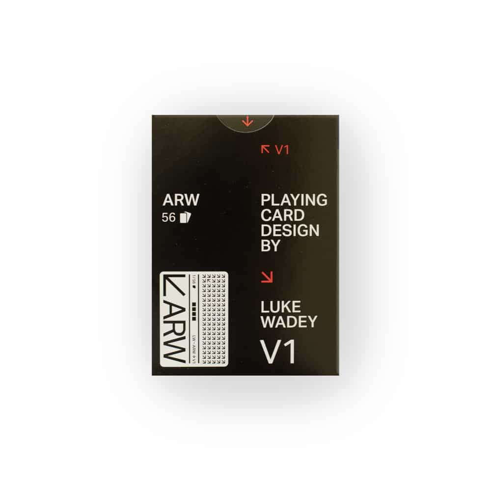 ARW Playing Cards by Luke Wadey Galerie