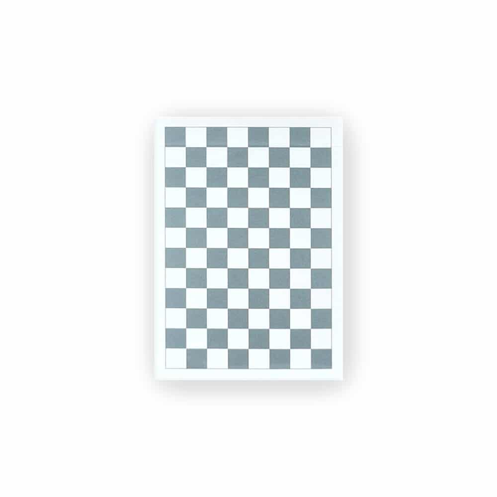 Anyone Worldwide Grey Checkerboard Playing Cards Galerie