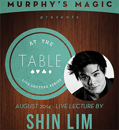 At the Table Live Lecture Shin Lim