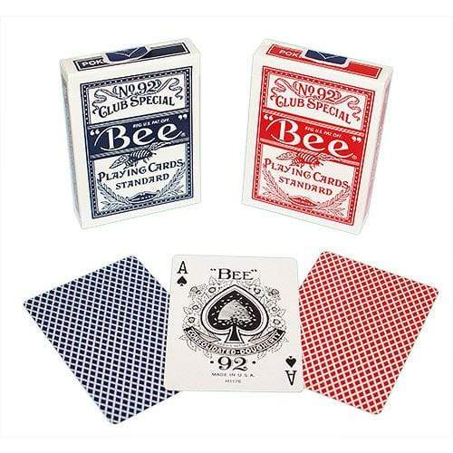 Bee Playing Cards Red Blue Alt1