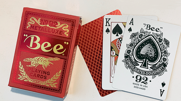 Bee-Red-MetalLuxe-Playing-Cards-Alt2