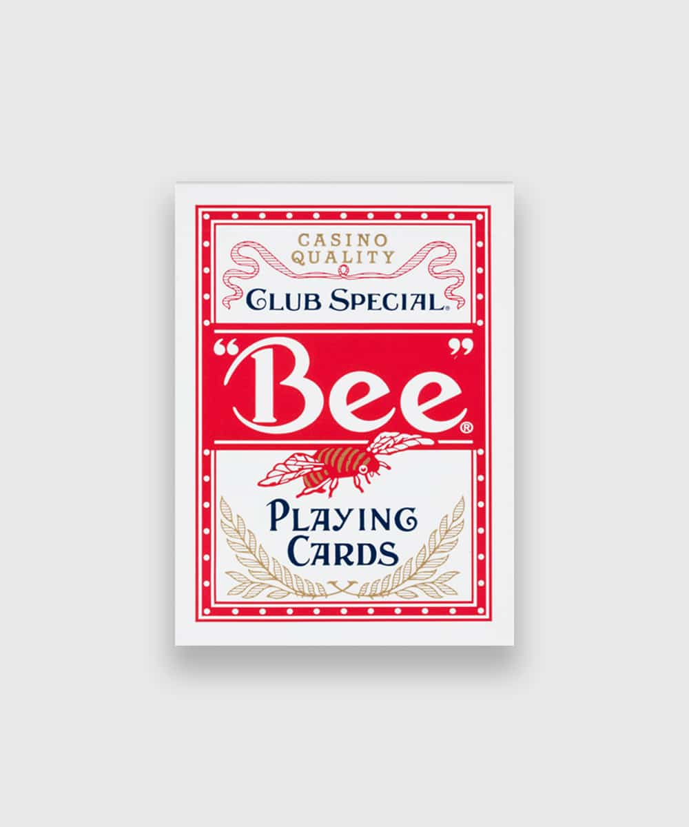 Bee Playing Cards Red Galerie