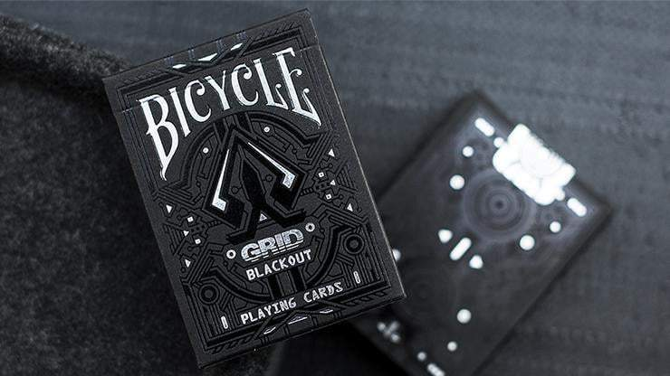 Bicycle Grid Blackout Playing Cards Limited Edition Alt1