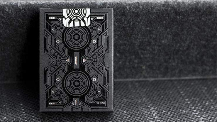 Bicycle Grid Blackout Playing Cards Limited Edition Alt2