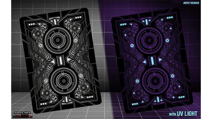 Bicycle Grid Blackout Playing Cards Limited Edition Alt4