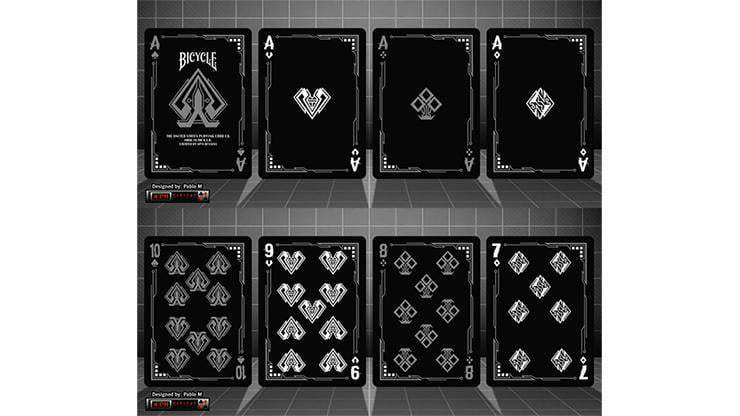 Bicycle Grid Blackout Playing Cards Limited Edition Alt6