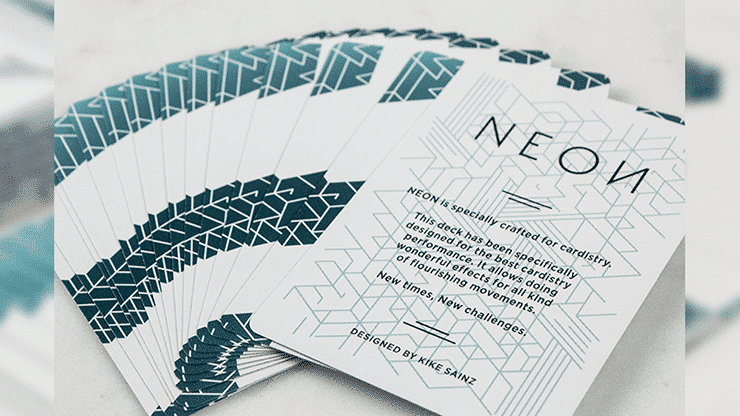 Bicycle Neon Cardistry Cards Alt1