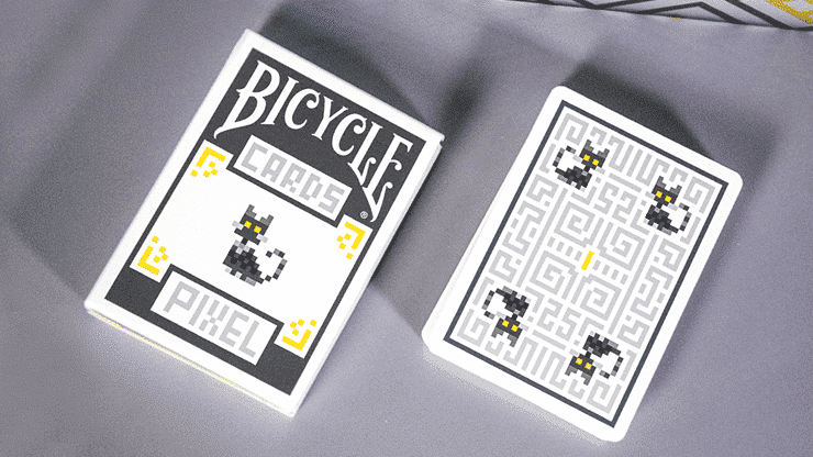 Bicycle Pixel (Cat) Playing Cards by TCC Alt1