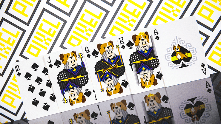 Bicycle Pixel (Cat) Playing Cards by TCC Alt3