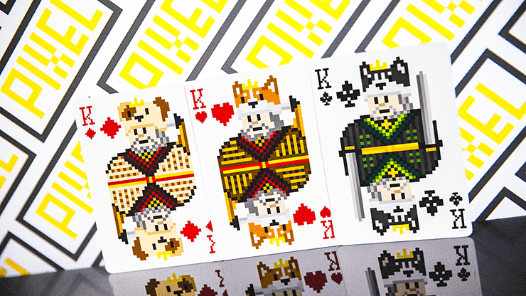 Bicycle Pixel (Cat) Playing Cards by TCC Alt4