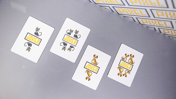 Bicycle Pixel Dog Playing Cards by TCC Alt2