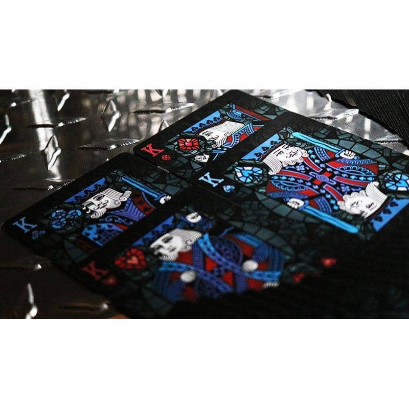 Bicycle Stained Glass Leviathan Playing Cards Alt3