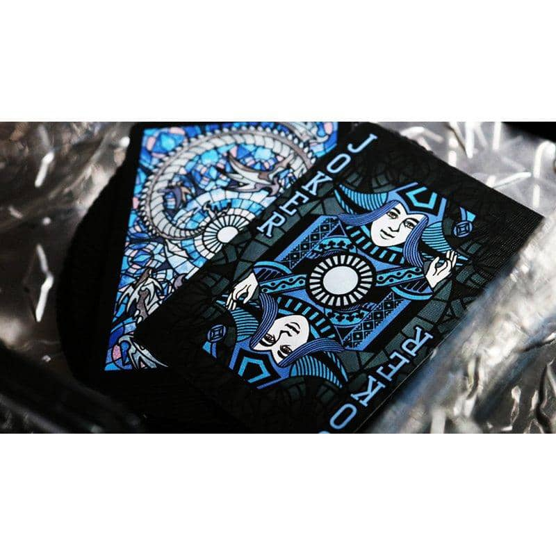 Bicycle Stained Glass Leviathan Playing Cards Alt4