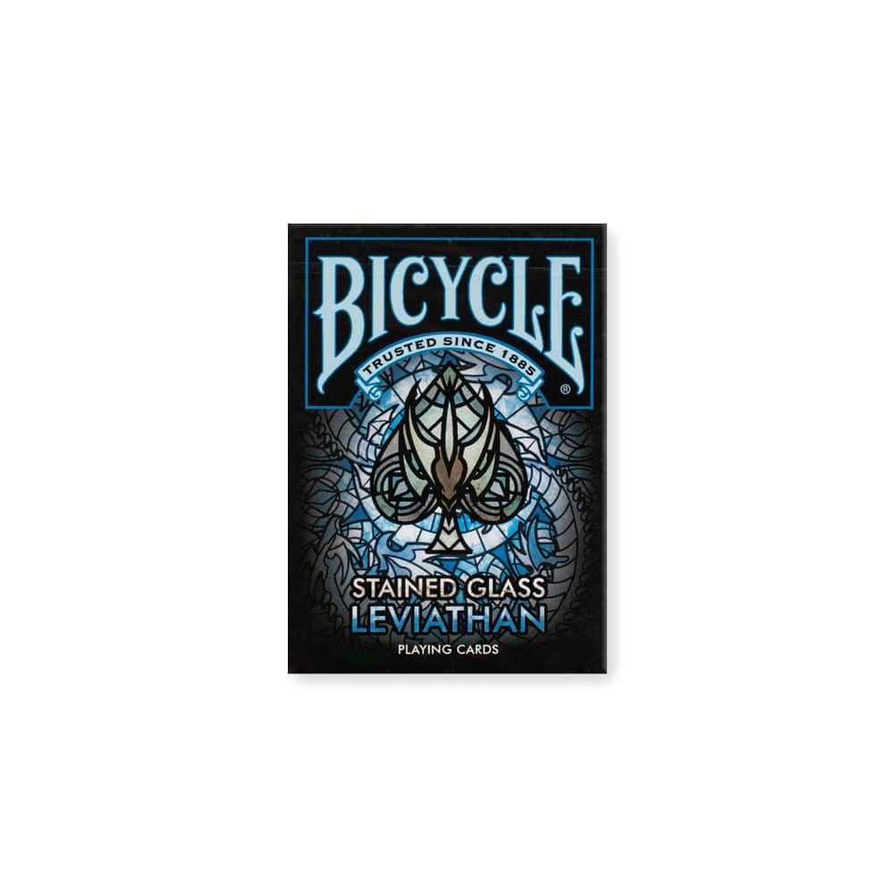 Bicycle Stained Glass Leviathan Playing Cards Galerie