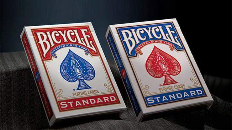 Bicycle Standard Red Rider Back Alt2