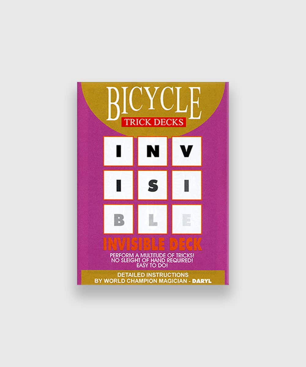 Bicycle Invisible Deck Galerie