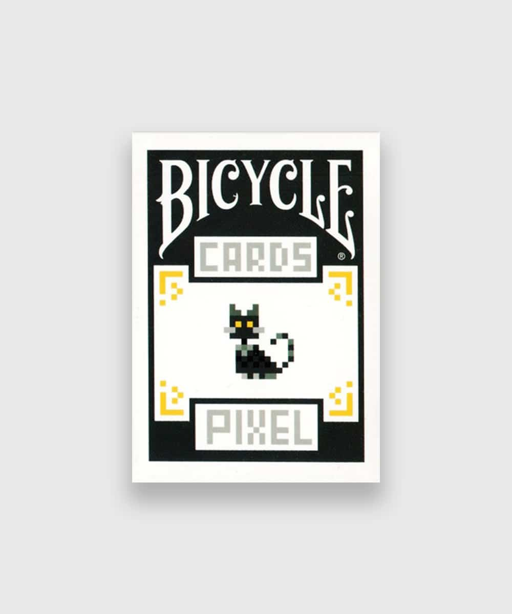 Bicycle Pixel Cat Playing Cards Galerie
