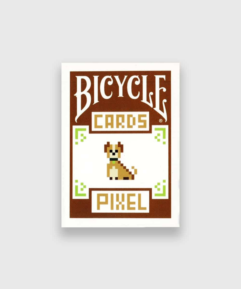 Bicycle Pixel Dog Playing Cards Galerie