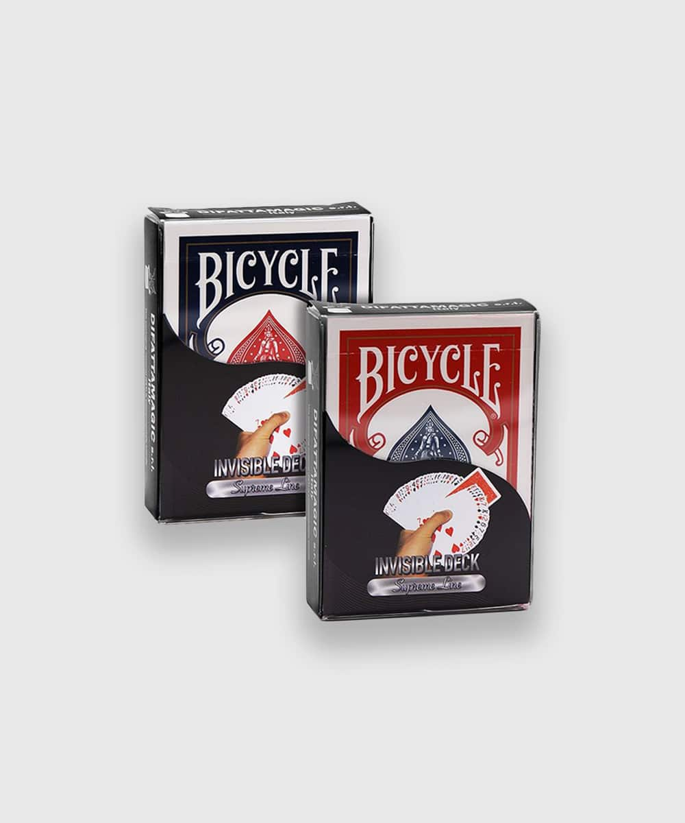 Bicycle Supreme Line Invisible Deck