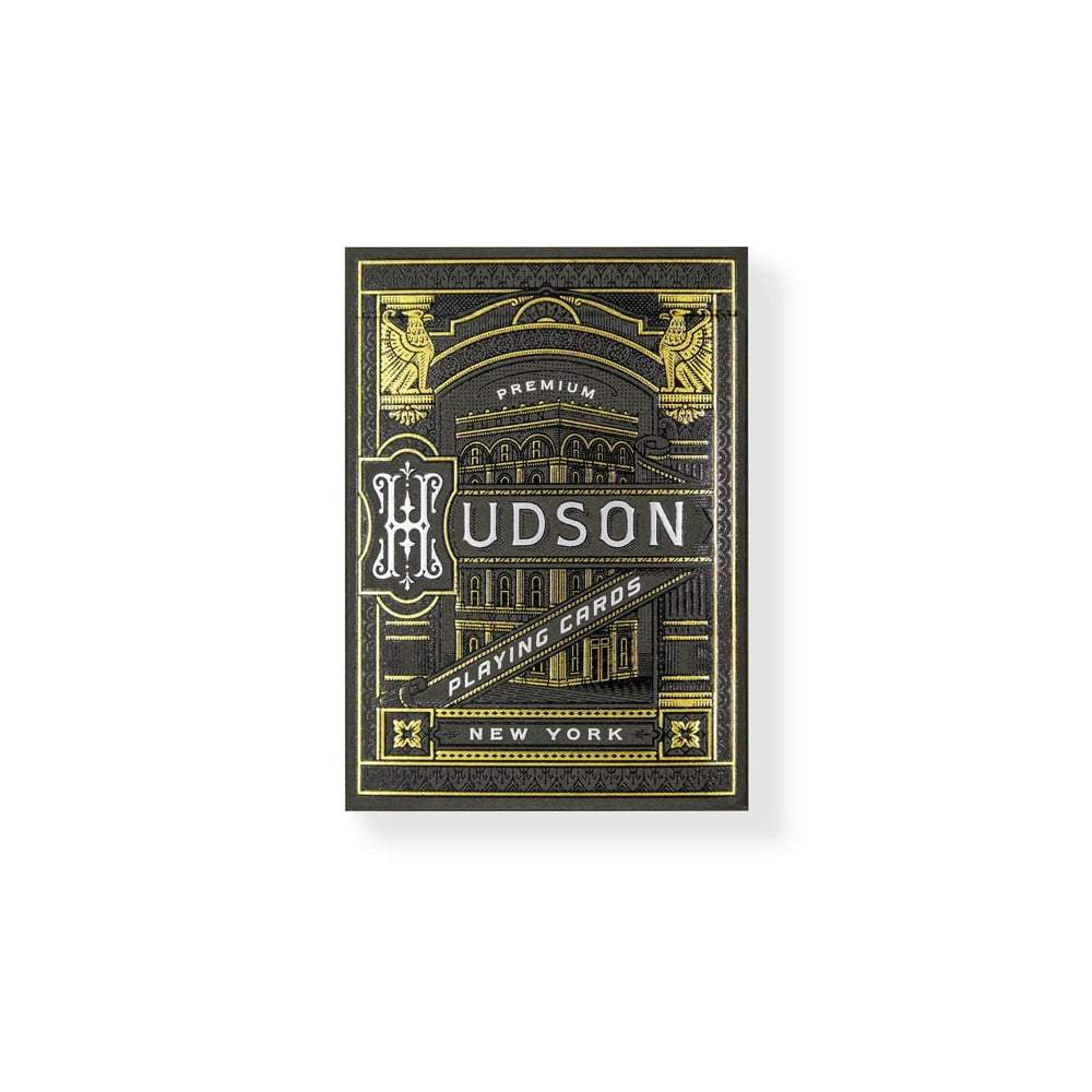 Black Hudson Playing Cards Theory11 Galerie