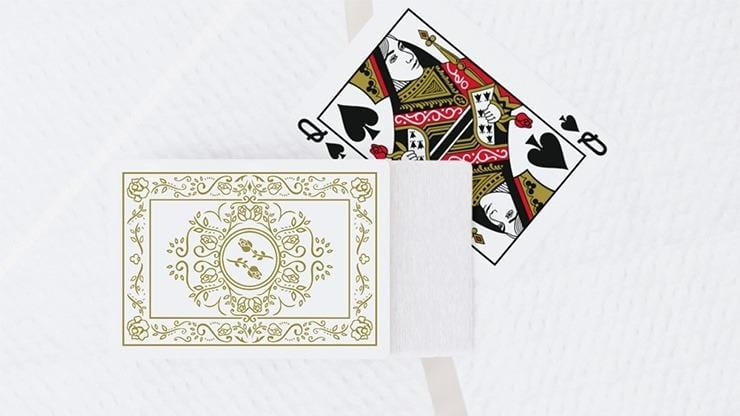 Black Roses White Gold Playing Cards Limited Edition Alt2