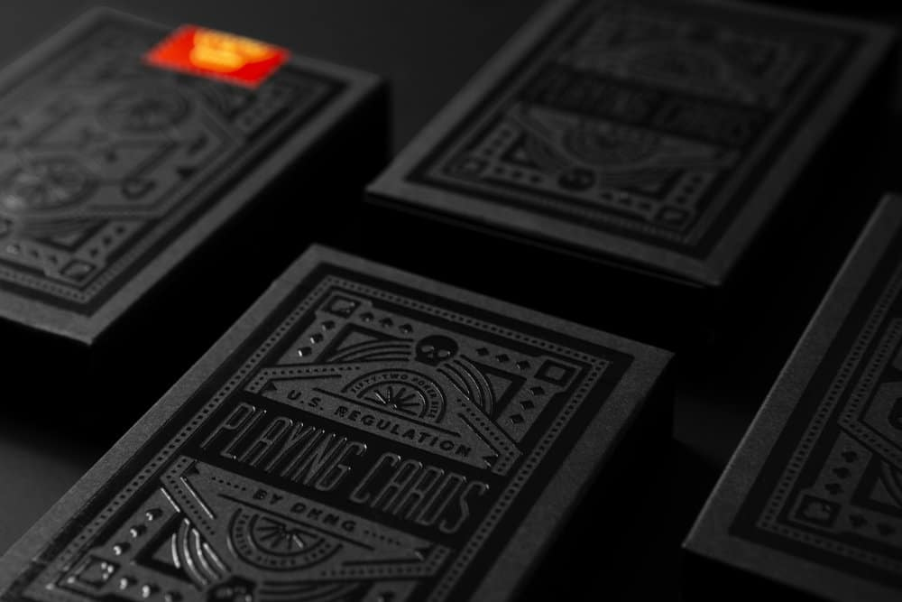Black Wheel Playing Cards Alt1