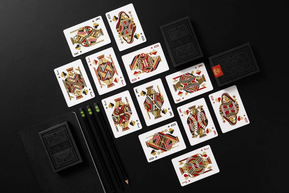 Black Wheel Playing Cards Alt6