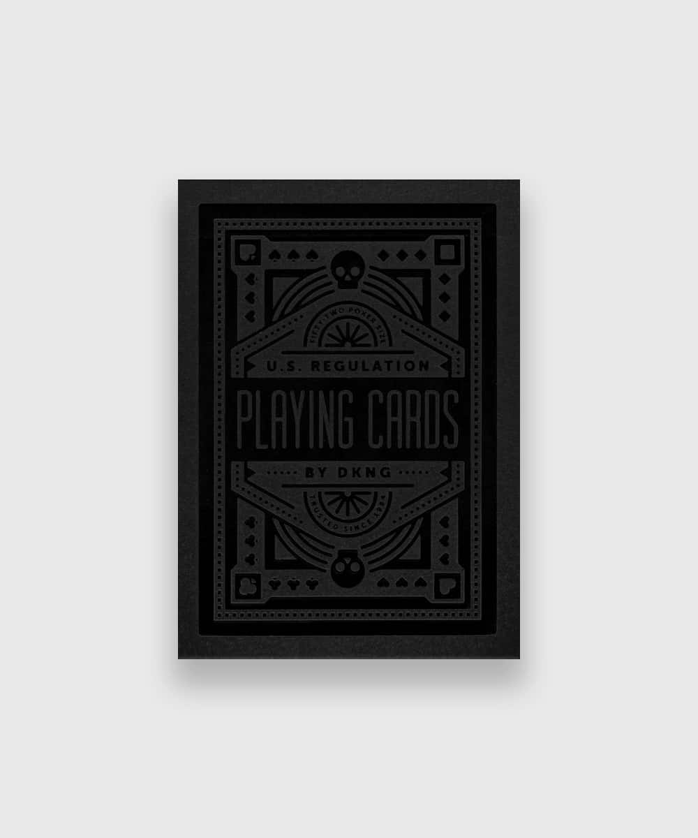 Black Wheel Playing Cards Galerie