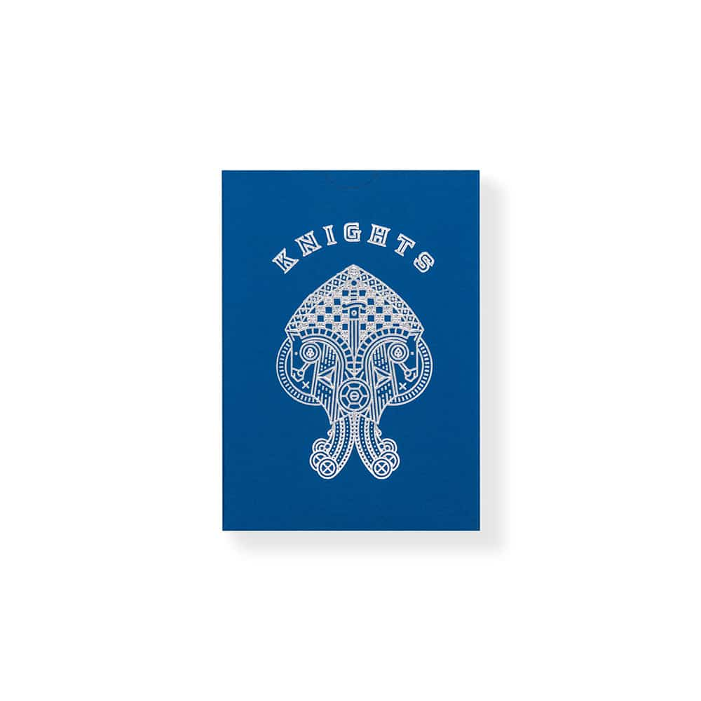 Madison Blue Knights Playing Cards