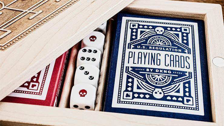 Blue Wheel Playing Cards by Art of Play Alt1