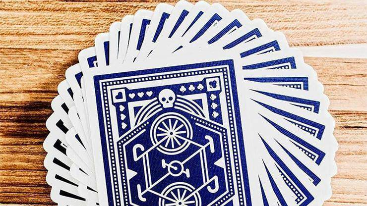 Blue Wheel Playing Cards by Art of Play Alt4