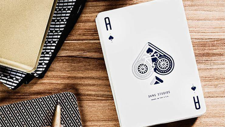Blue Wheel Playing Cards by Art of Play Alt5