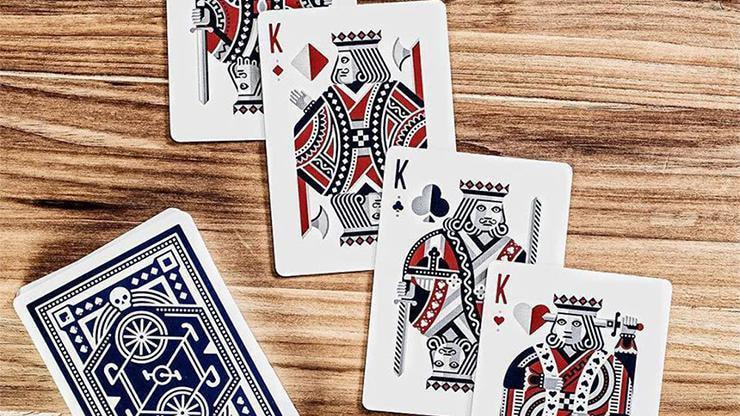 Blue Wheel Playing Cards by Art of Play Alt6