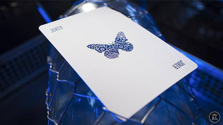 Butterfly Playing Cards Blue Alt2