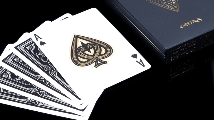 COBRA Black Edition Playing Cards Alt2