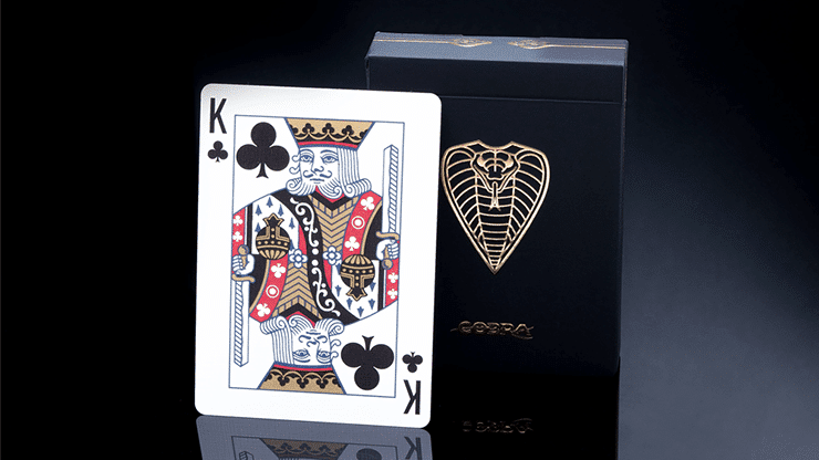 COBRA Black Edition Playing Cards Alt4