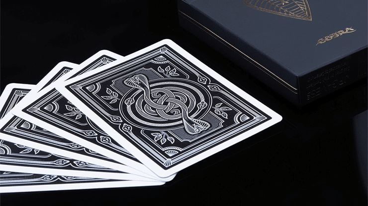 COBRA Black Edition Playing Cards Alt5
