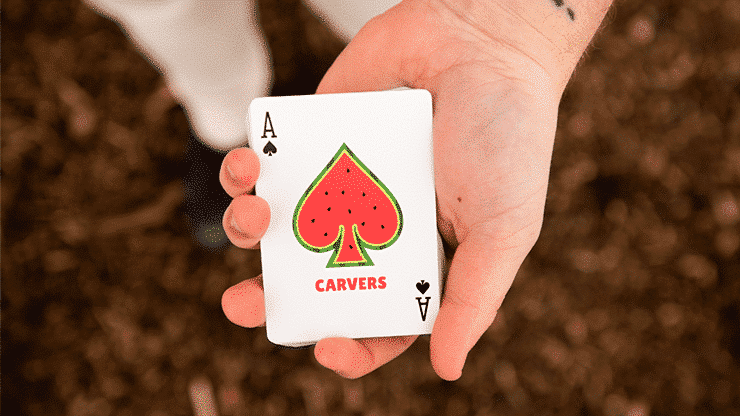 Carvers Playing Cards by Riffle Shuffle Alt5